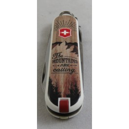 Canif VICTORINOX  Mount are calling