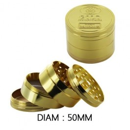 Grinder golden 50mm