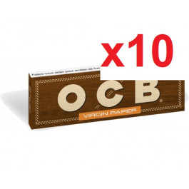 10 cahiers OCB slim virgin paper