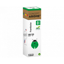 20 flacons concept arôme fruits rouges 0mg