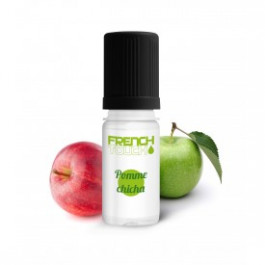 E-liquide french touch pomme chicha 6mg de nicotine