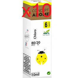 Concept arôme chlorophylle 6mg