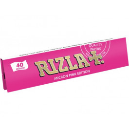 Lot de 10 cahiers long RIZLA+ micron pink