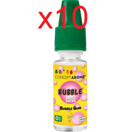 E-liquide Concept Arome 50/50 Bubble 0mg