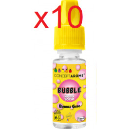 E-liquide Concept Arome 50/50 Bubble 6mg