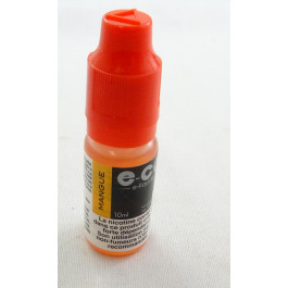 E-CG e-liquide mangue 6mg.