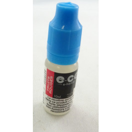 E-CG e-liquide fruit rouge 3mg.