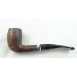 Pipe Chacom The French demi-courbe, sablée noire N°6