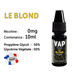 E-liquide VAP NATION le blond 0 de nicotine
