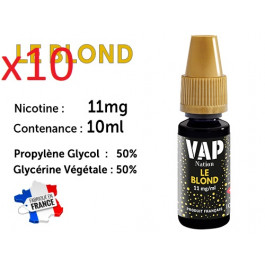 E-liquide Vap Nation le blond 11mg/ml de nicotine