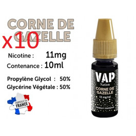 E-liquide Vap Nation corne de gazelle 11mg/ml de nicotine