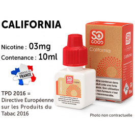 E-liquide SO GOOD Arizona 0 de nicotine