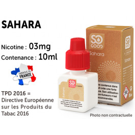 E-liquide SO GOOD California 0 de nicotine