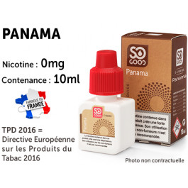 E-liquide SO GOOD NEVADA 0 de nicotine