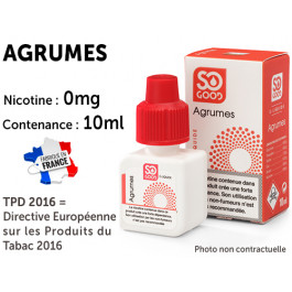 E-liquide SO GOOD menthe glaciale 0 de nicotine