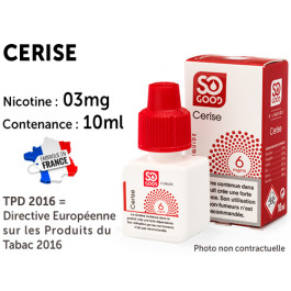 E-liquide SO GOOD agrumes 0 de nicotine