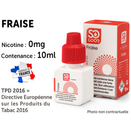 E-liquide SO GOOD citron 0 de nicotine