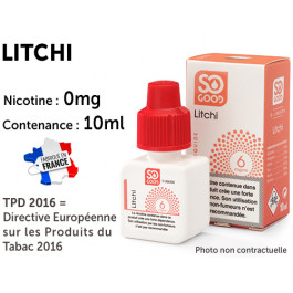 E-liquide SO GOOD fruits rouges 0 de nicotine