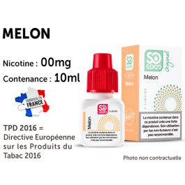 E-liquide SO GOOD litchi 0 de nicotine