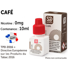 E-liquide SO GOOD anis 0 de nicotine