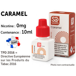 E-liquide SO GOOD cappuccino 0 de nicotine