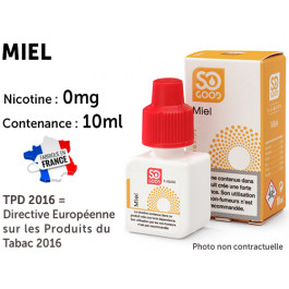 E-liquide SO GOOD caramel 0 de nicotine