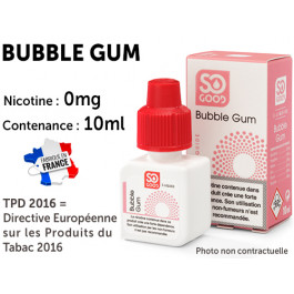 E-liquide SO GOOD vanille 0 de nicotine