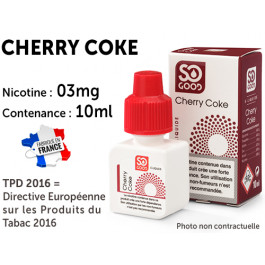 E-liquide SO GOOD bubble gum 0 de nicotine