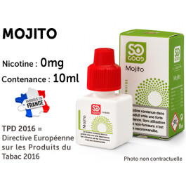E-liquide SO GOOD coca citron 0 de nicotine