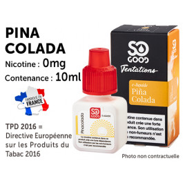 E-liquide SO GOOD mojito 0 de nicotine