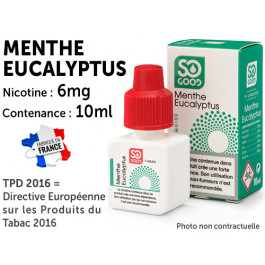 So Good menthol 6mg/ml