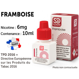 So Good fraise 6mg/ml