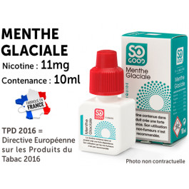 So Good  menthe glaciale11mg/ml