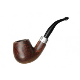 Pipe PETERSON Army mounted silver