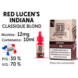 Red lucen's indiana classique blond 12mg/ml de nicotine