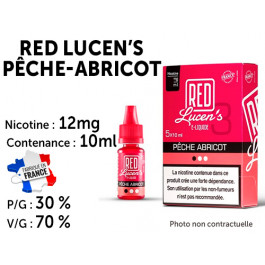 Red lucen's fruits rouges 12mg/ml de nicotine