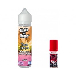 E-liquide SHAKE and BOOZE Dream Island 50ml + 1 nicoshoot de 10ml