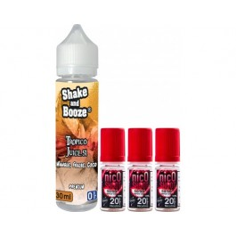 E-liquide SHAKE and BOOZE Tropico Juice 30ml + 3 nicoshoot 10ml